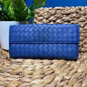 Bottega Veneta woven Intrecciato leather wallet
